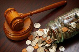 Цена на юридические услуги при разводе супругов