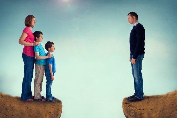 Як розлучитися з чоловіком, якщо є неповнолітні діти?